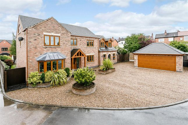 Thumbnail Detached house for sale in Jubilee Court, West Hallam, Ilkeston