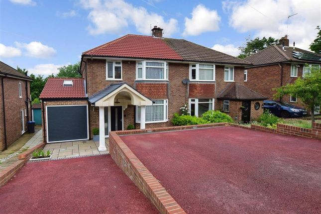 Thumbnail Semi-detached house for sale in St. Martins Close, Canterbury, Kent