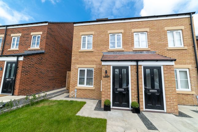 3 bed semi-detached house for sale in Fennel Way, Morpeth NE61