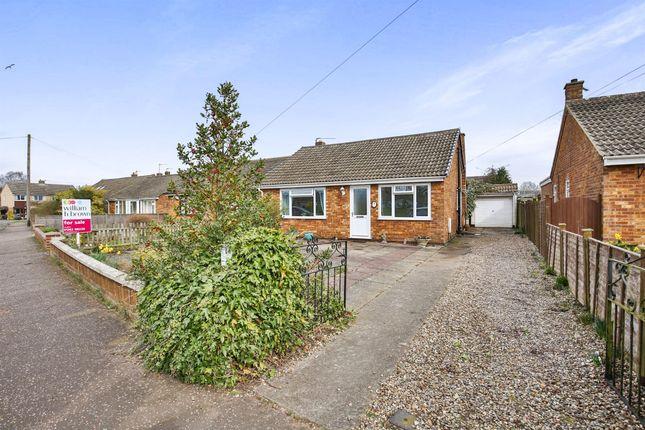Thumbnail Detached bungalow for sale in Elm Park, Toftwood, Dereham
