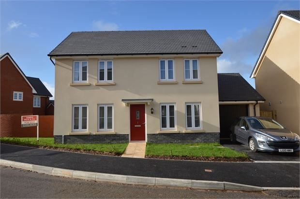 Thumbnail Detached house for sale in Baron Way, Newton Abbot, Devon.