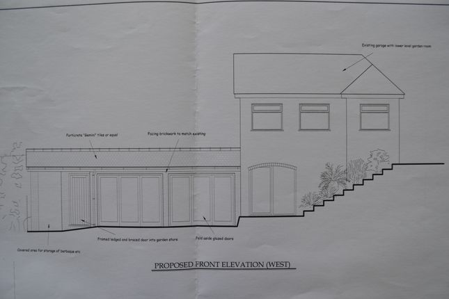 Plans Passed For Extension To Garden Room