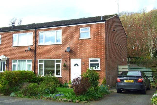 Thumbnail End terrace house for sale in Barley Close, Little Eaton, Derby
