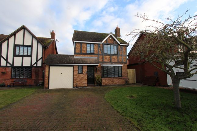 Thumbnail Detached house to rent in Blakeways Close, Edingale, Tamworth