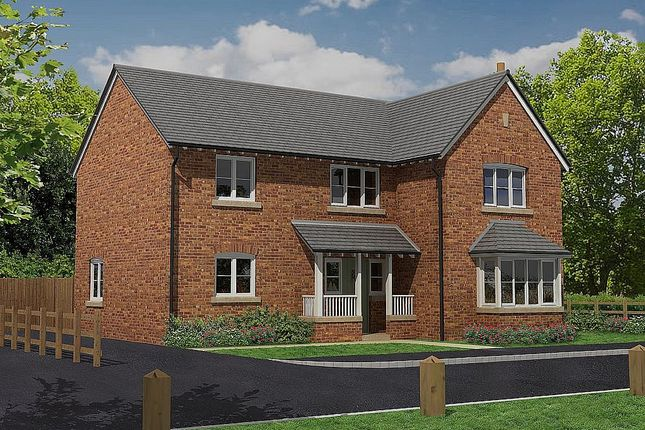 Thumbnail Detached house for sale in Manor Fields, Wrexham Road, Shrewsbury, Shropshire