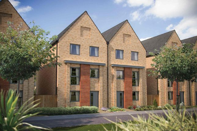 Thumbnail Town house for sale in The Winchcombe, Northstowe