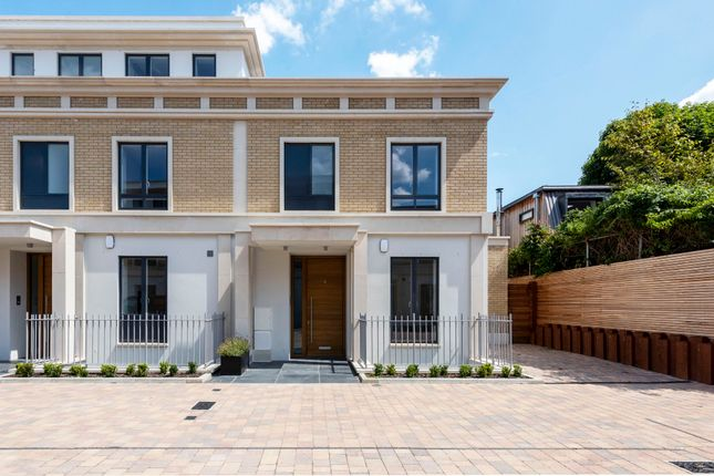 Thumbnail End terrace house for sale in Basilica Mews, London