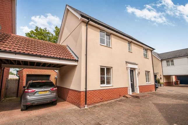 Detached house for sale in Gerard Gardens, Great Baddow, Chelmsford