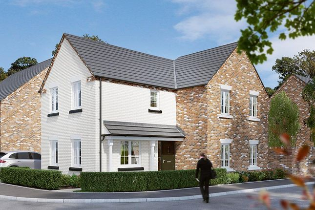 "Thumbnail Detached house for sale in ""The Hartlebury"" at Dark Lane, Whatton, Nottingham"