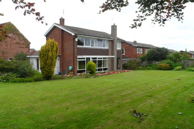 Thumbnail Detached house for sale in Crawhall Crescent, Morpeth