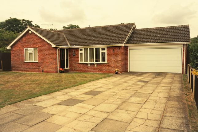 Thumbnail Detached bungalow for sale in Branston Close, Winthorpe, Newark