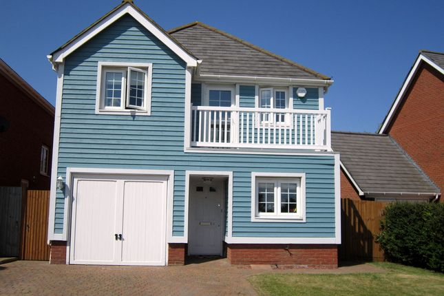 Thumbnail Detached house to rent in Carp Close, Larkfield, Aylesford