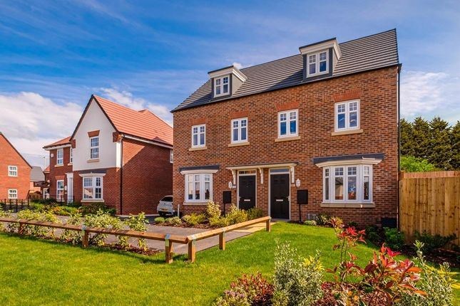 """Thumbnail End terrace house for sale in """"Kennett"""" at Birdhaven Close, Banbury Road, Lighthorne, Warwick"""