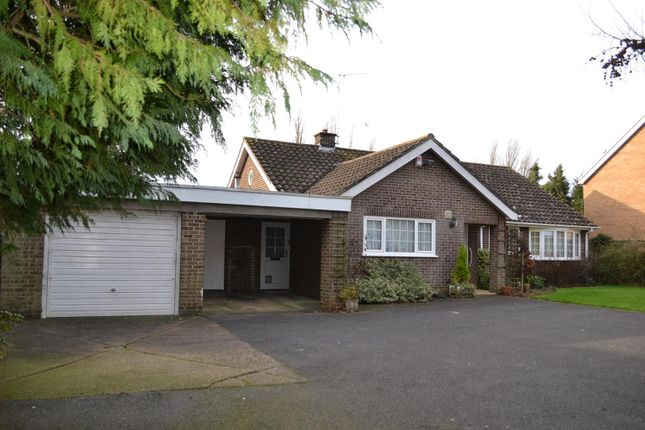 Thumbnail Detached bungalow to rent in Northfield Road, Quarrington, Sleaford