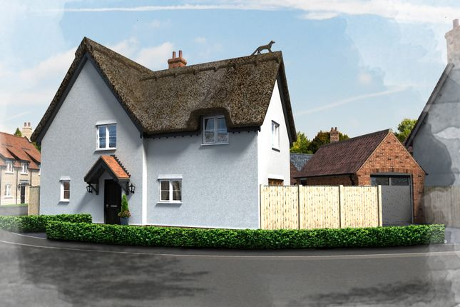 Thumbnail Cottage for sale in Fox Cottage, Plot 37, Hill Place, Brington, Huntingdon