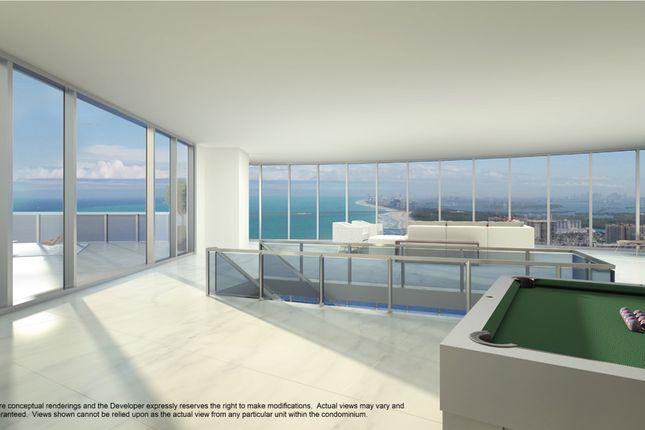 Penthouse Rthird Floor At The Porsche Design Tower In Miami
