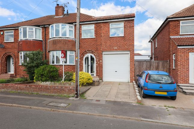 Thumbnail 3 bed semi-detached house for sale in Rosslyn Avenue, Aston, Sheffield