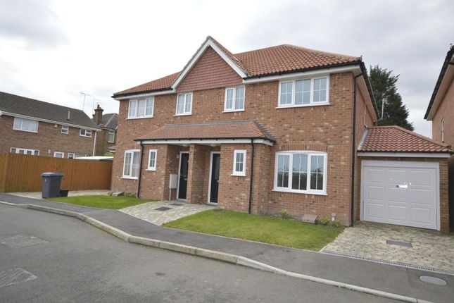 Thumbnail Semi-detached house to rent in Bevan Close, Deal