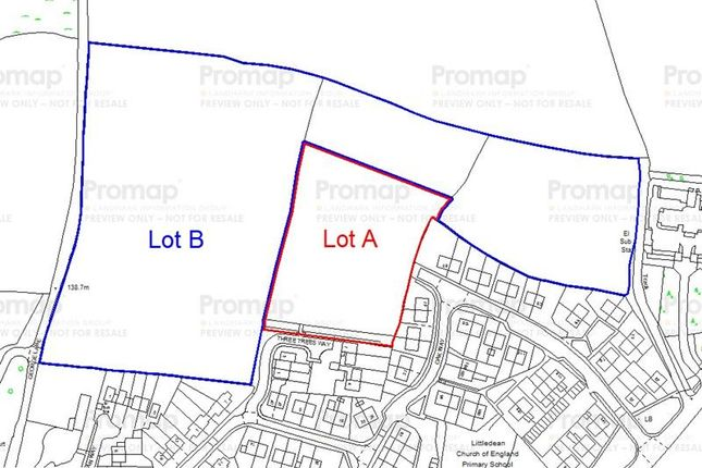 Thumbnail Commercial property for sale in Development Land At, Three Trees Way, Littledean, Cinderford, Gloucestershire