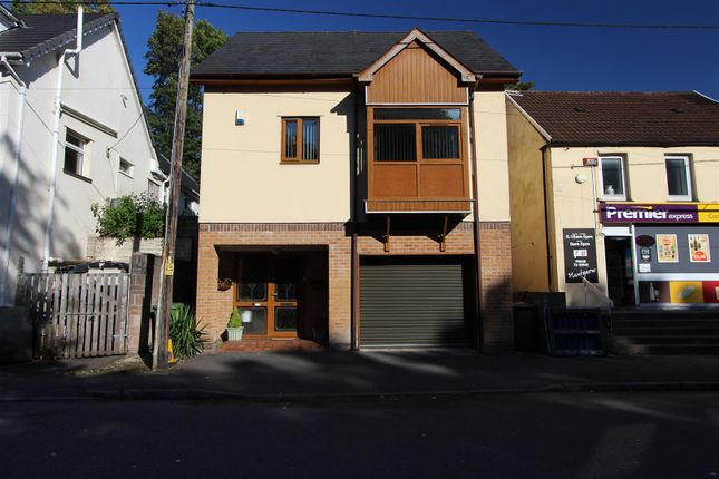 Thumbnail Detached house for sale in Cardiff Road, Nantgarw, Cardiff
