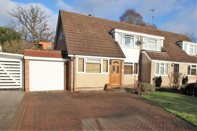 Thumbnail Semi-detached house for sale in Frimley Grove Gardens, Frimley