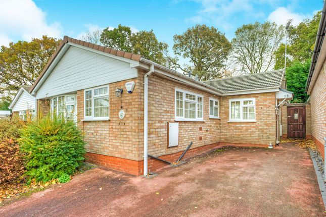 Thumbnail Detached bungalow for sale in Campden Close, Crabbs Cross, Redditch