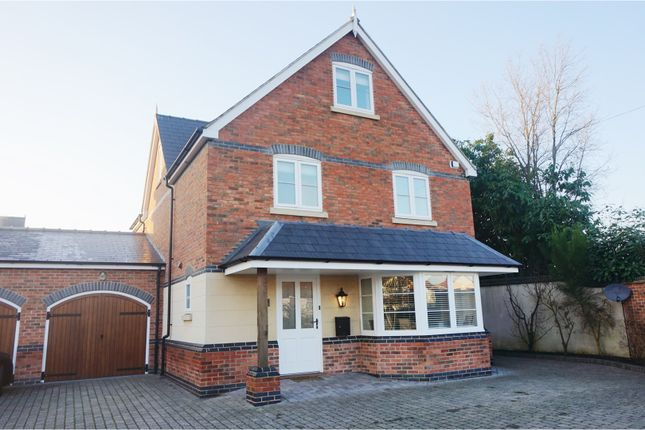 Thumbnail Link-detached house for sale in Birmingham Road, Lichfield