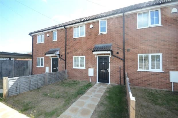 Thumbnail Terraced house for sale in Macs Close, Padworth, Reading