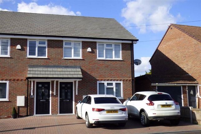 Thumbnail Semi-detached house to rent in Stoke Road, Hoo, Rochester