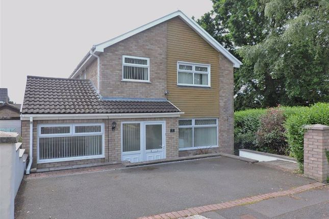 Thumbnail Detached house for sale in Clos-Y-Bont Faen, Cwmrhydyceirw, Swansea