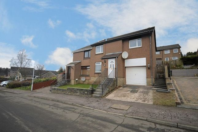 Thumbnail Semi-detached house for sale in Cowal Crescent, Balgeddie, Glenrothes