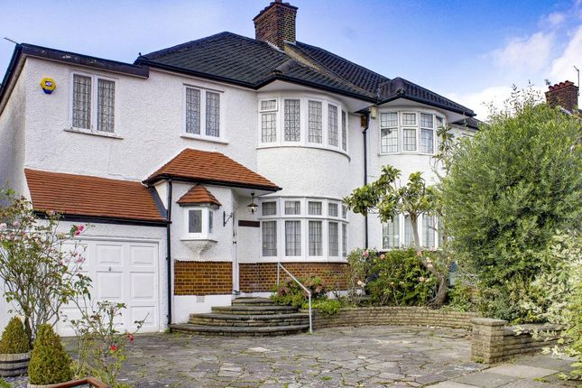 Thumbnail Semi-detached house for sale in Townsend Avenue, London