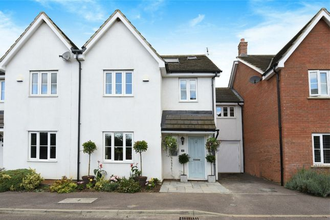 Thumbnail Terraced house for sale in Beanfield Close, Riseley, Bedford