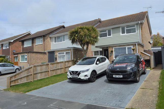 Thumbnail Semi-detached house for sale in Grenville Drive, Ryde