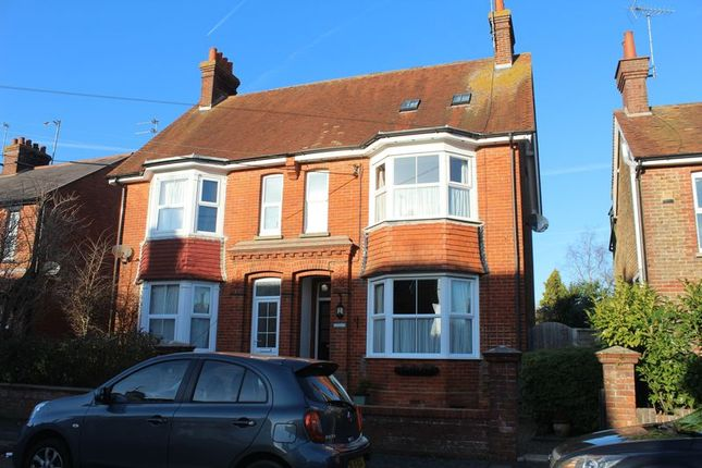 Thumbnail Semi-detached house for sale in Gloucester Road, Burgess Hill