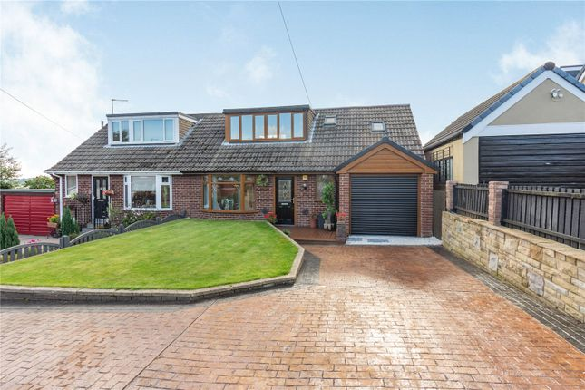 Thumbnail Semi-detached house for sale in Ludwell Close, Dewsbury, Kirklees