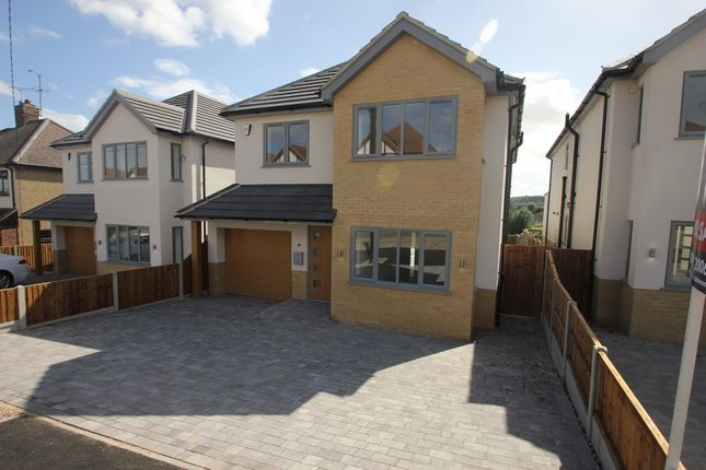 Thumbnail Detached house for sale in Tudor Way, Hawkwell, Hockley