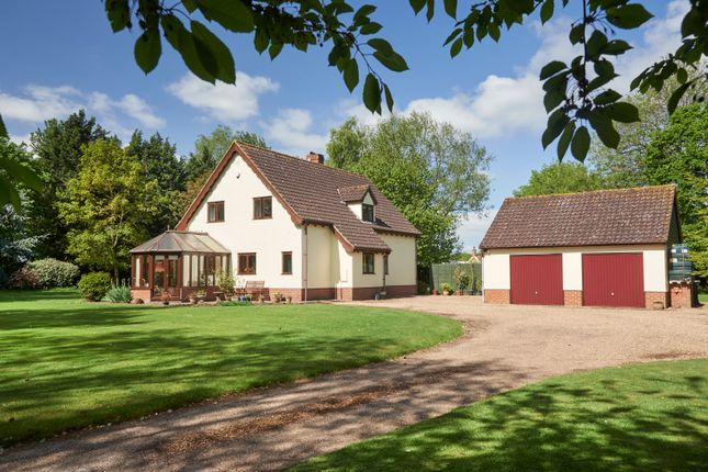 Detached house for sale in Mill Lane, Weybread, Diss