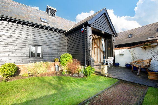 Thumbnail Barn conversion for sale in Westbury Farm Close, Offley, Hitchin