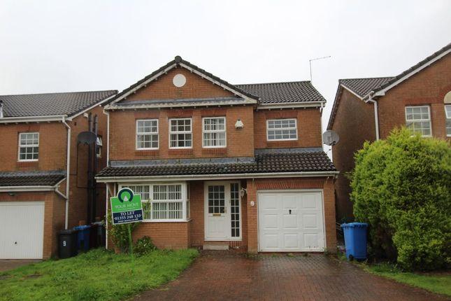 Thumbnail Detached house to rent in Strathconon Gardens, East Kilbride, Glasgow