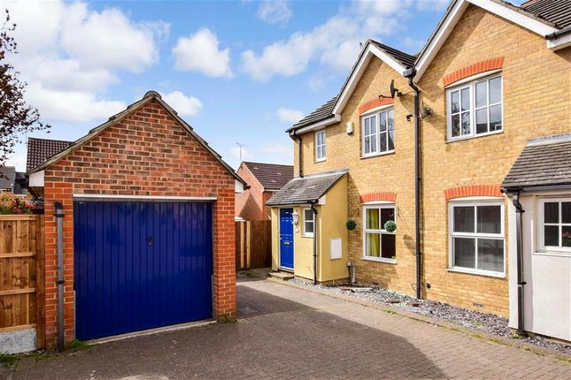 3 bed semi-detached house for sale in Davidson Gardens, Wickford, Essex SS12