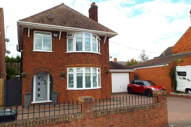 Thumbnail Detached house for sale in Queens Road, Wollaston, Northamptonshire