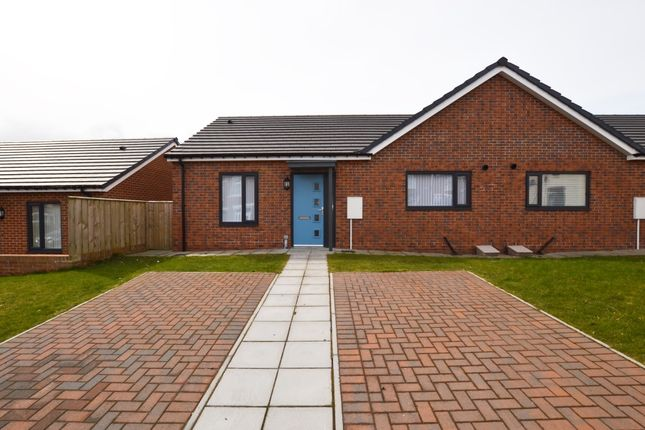 Thumbnail Semi-detached bungalow for sale in Bishops Court, Stanley, County Durham