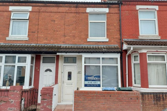 2 bed terraced house for sale in Ransom Road, Foleshill, Coventry CV6