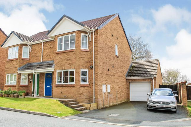 3 bed semi-detached house for sale in Hernog Close, Llandrindod Wells LD1