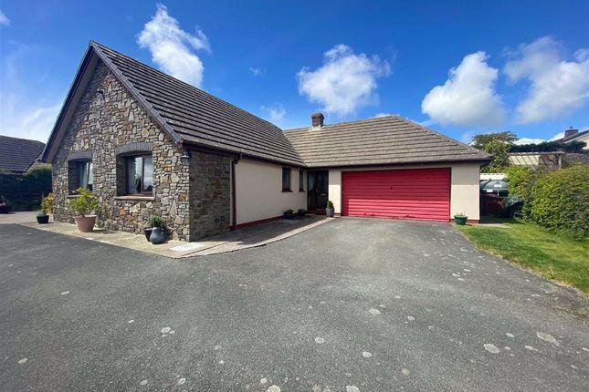 Thumbnail Detached bungalow for sale in West Lane Close, Keeston, Haverfordwest