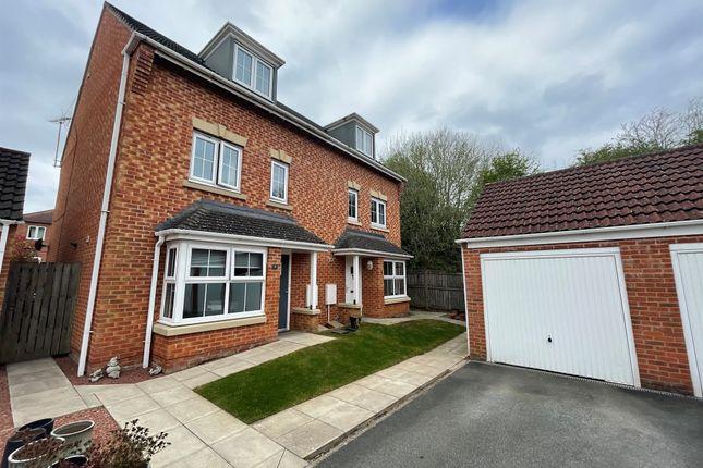 Thumbnail Semi-detached house for sale in Guinea Croft, Knaresborough