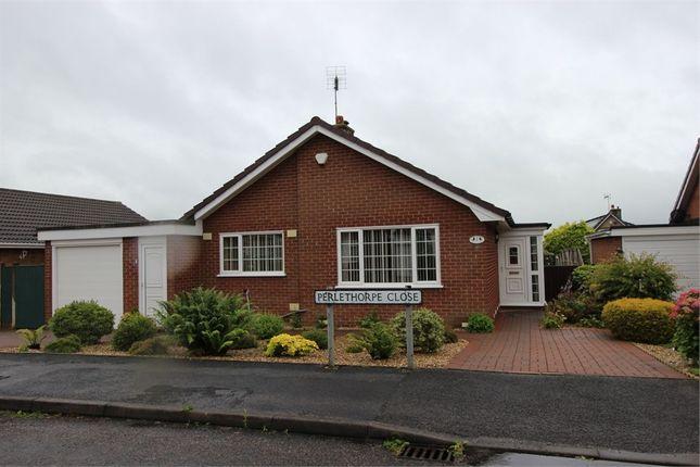 Thumbnail Detached bungalow for sale in 2 Perlethorpe Close, Edwinstowe, Nottinghamshire
