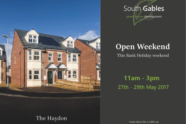 Thumbnail Semi-detached house for sale in South Gables, Ratcliffe Road, Haydon Bridge, Hexham, Northumberland