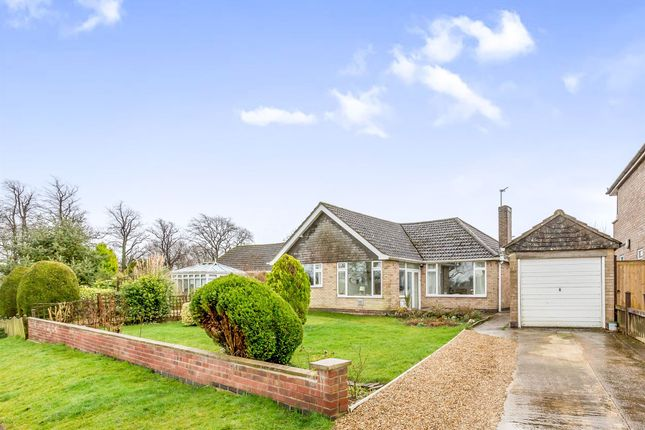 Thumbnail Detached bungalow for sale in Ashwell Road, Cottesmore, Oakham